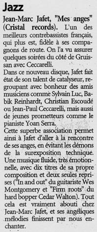 L'INDEPENDANT- 30 octobre 2004