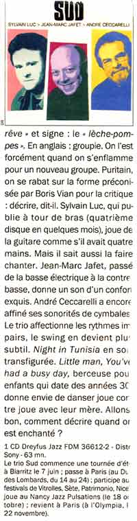 article TELERAMA 7-6-2000