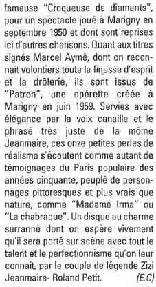 Article Platine octobre 2003